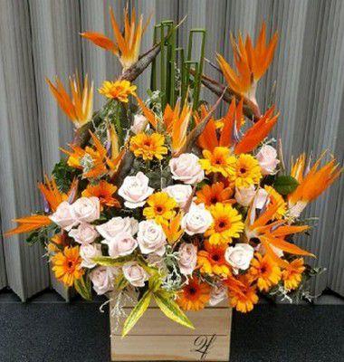 Giỏ hoa tặng chồng đẹp