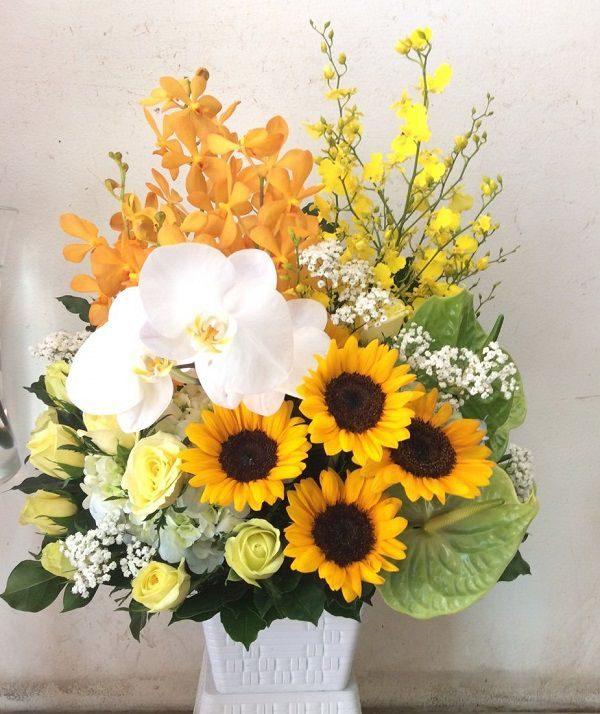 Gio hoa sang trong