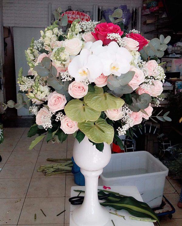hoa sinh nhật sang trọng tặng sếp