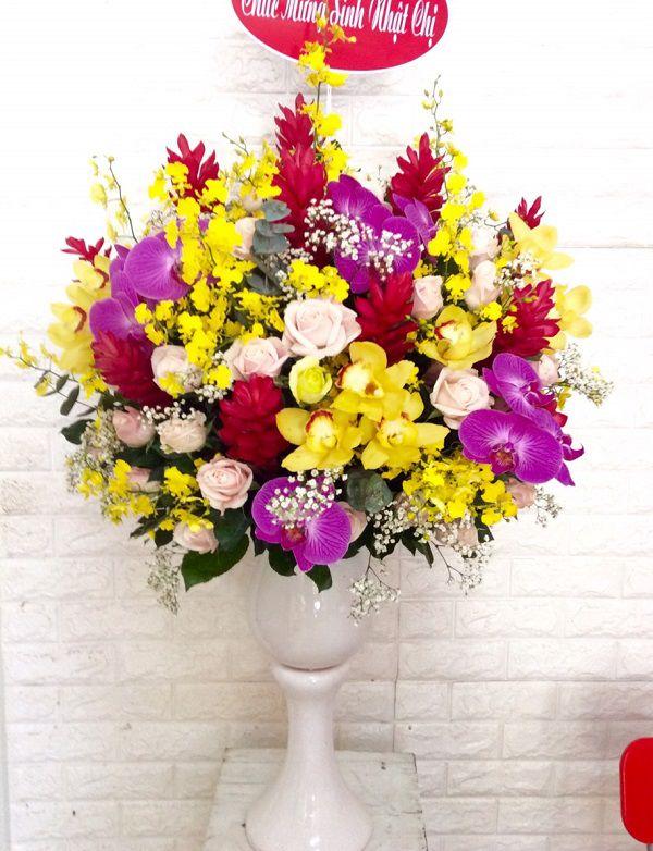hoa sinh nhat sang trong