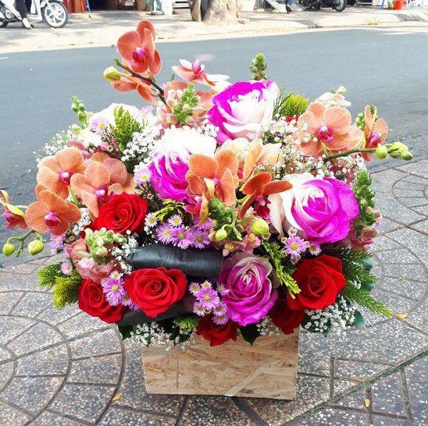 hoa tang sinh nhat sep