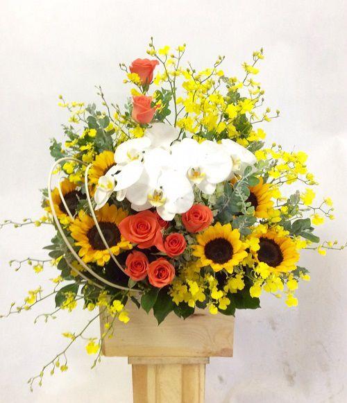 Hoa sinh nhật tặng chồng yêu